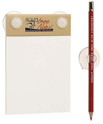 Aqua Love Notes – Waterproof Notepad