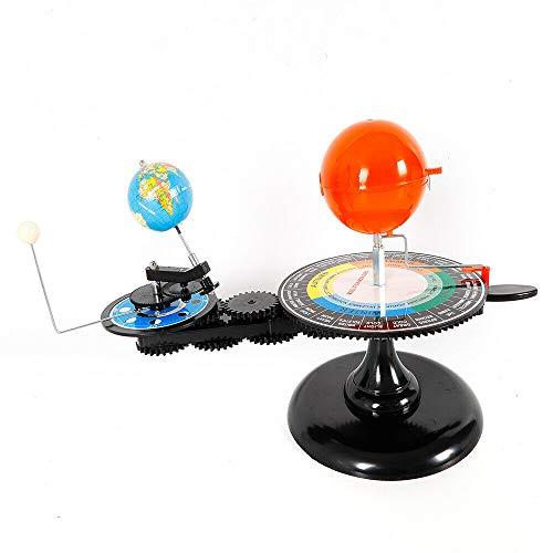 DYRABREST 교육 과 모델 태양이 지구 달 궤도 천문관과 함께 모델 빛 어린이 교육 지도 인기 있는 과학 천문학 DEMO