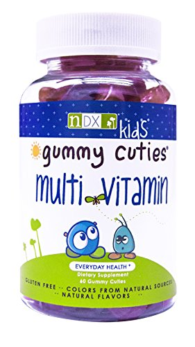 Gummy Cuties Multivitamin Kids Gummy Vitamins, 60 Count