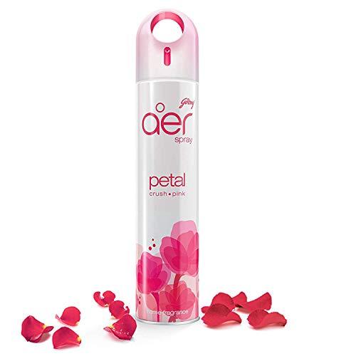 Godrej aer Home Air Freshener Spray – 240 ml (Petal Crush Pink)