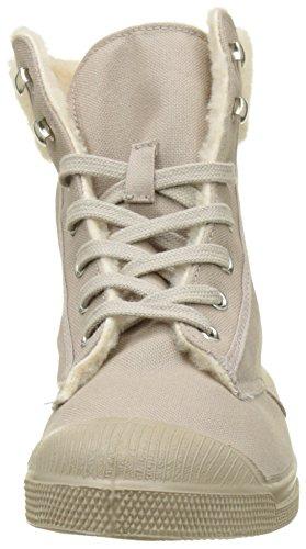 Bensimon Damen Ten Ranger Fourre High Top Sneakers Beige