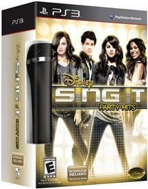 DISNEY SING IT: PARTY HITS PS3 BUNDLE (PS3) by Disney Interactive Studios