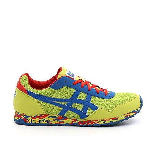Asics Curreo - Zapatillas deportivas para hombre lime green - blue - red