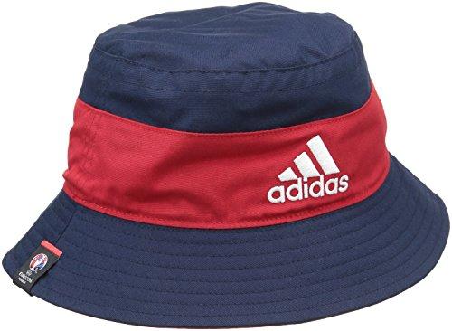 adidas Buck Francia sombrero Reversible Hombre Azul Azul Collegiate Navy/Scarlet Talla:FR : 54-60 cm (Taille Fabricant : 54-60 cm) Azul - Collegiate Navy/Scarlet