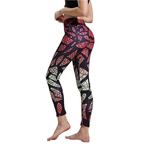 Womens Sports Yoga Pants Workout Gym Fitness Exercise Athletic Pants by E-Scenery High Waist Camouflage Leggings