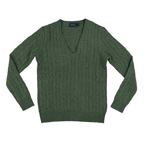 mens Wool Sweater (Medium, Green) ()