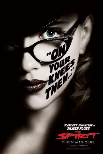 "The Spirit - Movie Poster (Scarlett Johansson as Silken Floss) (Size: 24"" x 36"") (Poster & Poster Strip Set)"