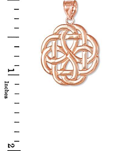 10 ct 471/1000 Celtique Or Rose Pendentif