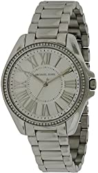 Michael Kors Kacie Silver Dial Stainless Steel Ladies Watch MK6183