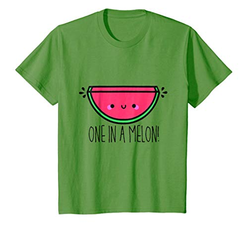 Price comparison product image Kids One in a Melon T Shirt | One in a Million Fruity Tee Shirt 10 Grass
