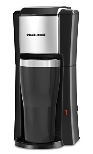 BLACK+DECKER Single Serve Coffee Maker, Black, CM618C