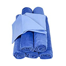 Neighbor's Envy XL Microfiber Towels - Extra Large 24 x 60 inch Auto Detailing Towels - Professional Quality