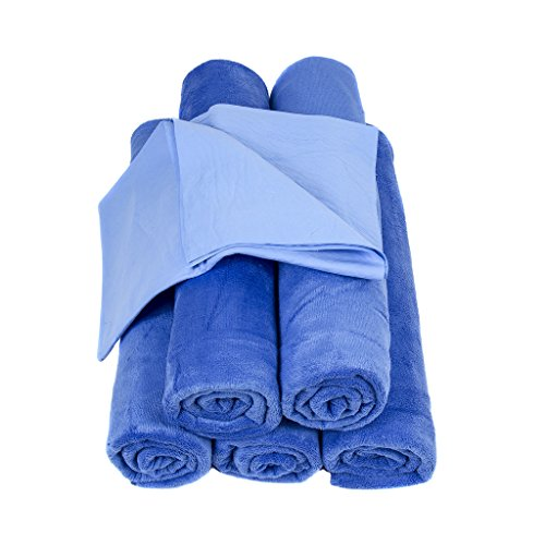5 Pack - Neighbor's Envy XL Microfiber Towels - Extra Large 24 x 60 inch Auto Detailing Towels - Professional Quality