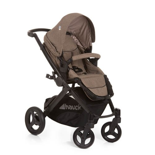 Hauck Maxan 4 Plus Trio Set 4 Wheel Travel System, from Birth to 22 Kg,...
