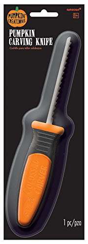 Amscan 241550 Pumpkin Carving Knife, One Size, -