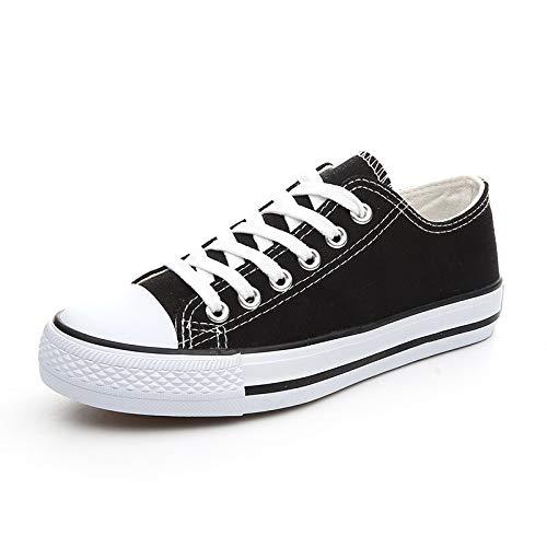 Black Chaussures Plat Sport White A à de pour Talon Femmes ZZ0FPw