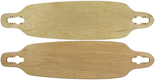 "Moose Longboard 9"" x 36"" Drop Through Deck Natural"
