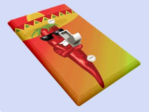 - Mexican Chili Pepper Switchplate - Switch Plate Cover