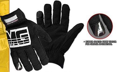 Moto-Gate 3 Pairs Mechanics The Greaser Utility Work Glove Size XL from Moto-Gate