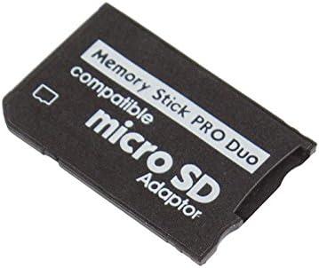 Doble Ranura Micro Sd Sdhc Tf A Ms Memory Stick Pro Duo Conversor Adaptador Para CL