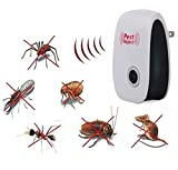 VKOPA Pest Repeller Ultrasonic - Professional Electronic Pest Repellent Control Repels Mice,Rats,Fly,Moths,Mosquito,Ants,Spiders,Bats,Rodents - Natural Insect Control Roaches Equipment for Indoor