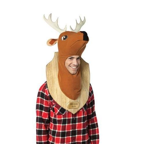 Oh Deer Trophy Halloween Costumes - Trophy Head Deer Costume