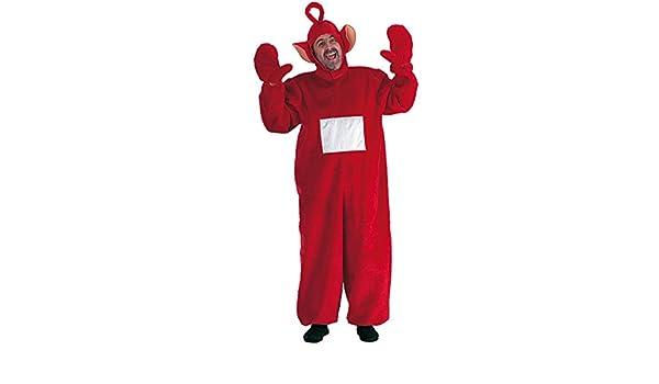Disfraz adulto Teletubbies Po – Talla M – Deguisement – rojo – 836 ...