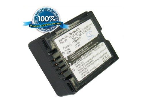 Battery2go - 1 year warranty - 7.4V Battery For HITACHI DZ-BD70, DZ-HS903, DZ-HS303E, DZ-BD7HA, DZ-HS303A, DZ-MV580E