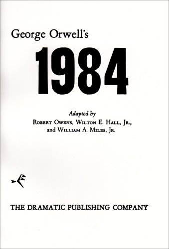 An overview of the political parable of the novel 1984 by george orwell