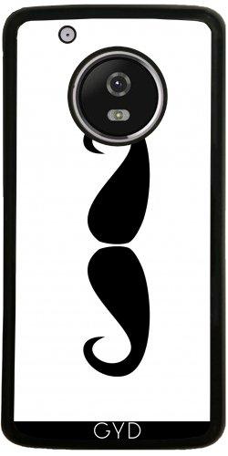 Funda de silicona para Moto G5 Plus - Mustach by Paslier
