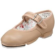 Capezio Youth Mary Jane Tap Shoe, Caramel-1.5 M Yth