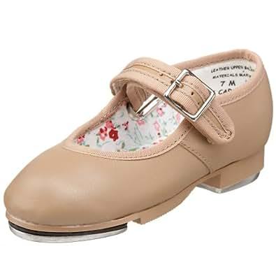 Capezio 3800 Mary Jane Tap Shoe (Little Kid/Big Kid),Caramel,1 M US Little Kid