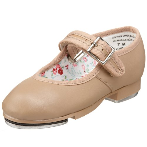 Capezio Toddler Mary Jane Tap Shoe, Caramel-7.5 M Tod