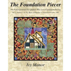 Manor Saucer (The Foundation Piecer - Volume 1, Number 5 - Ivy Manor)