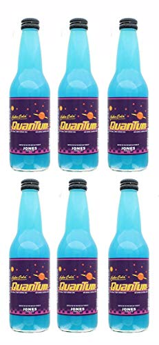 Jones Soda Fallout Nuka-Cola Quantum Official Berry Flavored Nuka-Cola Soda | Pack of 6