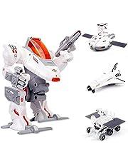 Sillbird STEM Education Solar Robot Toys for Kids Age 8-12