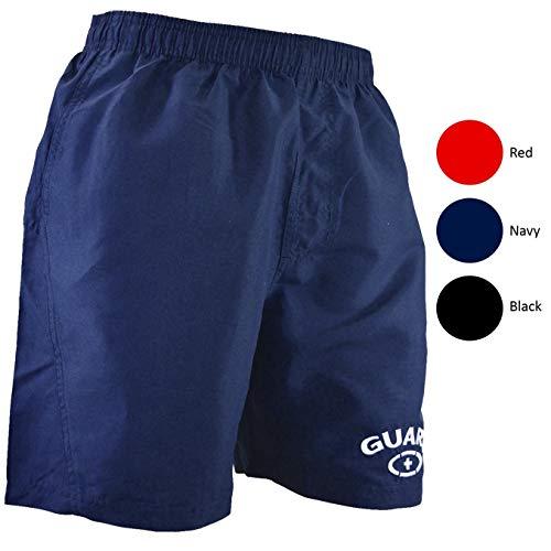 Adoretex Mens Guard 18 Swim Board Shorts Swim Trunks Mesh Liner - MG002 - Navy - M