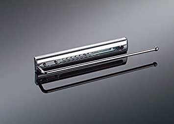 Naber handtuchhalter fürs bad mit abdeckung 1 armig 65 mm chrom