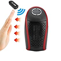 Desktop Portable Electric Wonder Heater Wonder Fan Warm Mini Electric Heater Handy Plug-in 550W Wall Heater with Remote Control