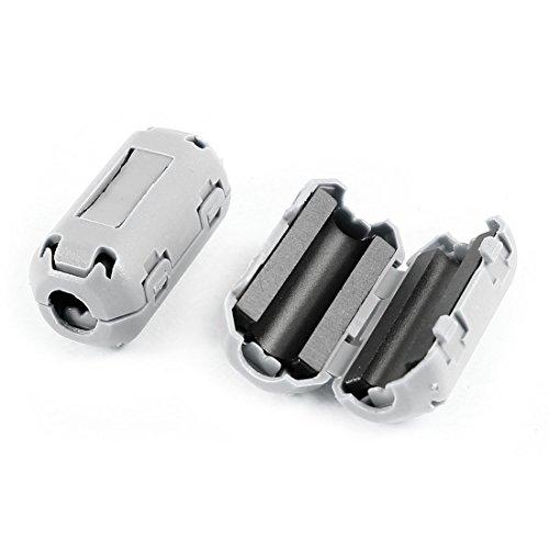 2 Pcs UF35B Noise Filter Ferrite Clip for 5mm Dia Audio Video Cable