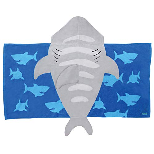 Stephen Joseph Hooded Towel, Shark ()