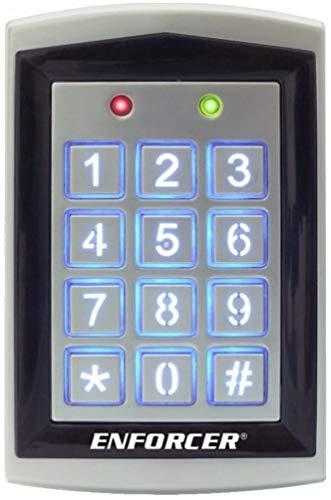 SK-1323-SPQ Seco-Larm Sealed Housing Weatherproof Digital Access Keypad w/Built-in Proximity Reader