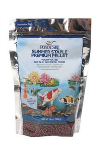 Pondcare Summer Staple Pellet Fish Food, 10 Ounce