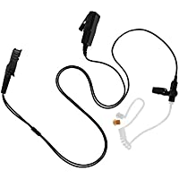 Maxtop ASK4032-AX 2-Wire Acoustic Ear Tube Surveillance Kit for Motorola XiR P6620 DEP550e DGP8050e