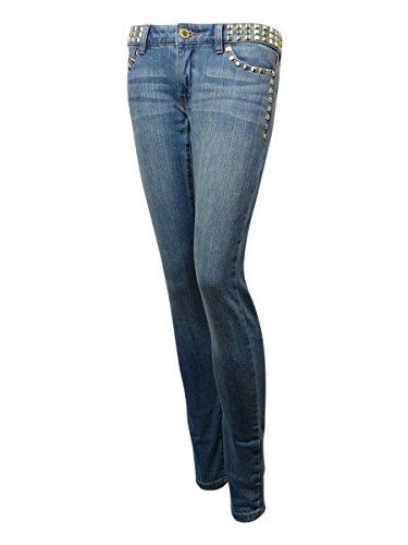 Michael Kors Women's Studded Skinny Jeans (16, Medium Vintage - Vintage Kors Michael