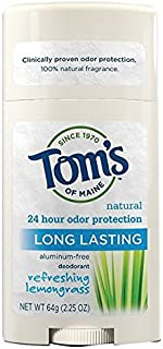 product image for Tom's of Maine Natural Long-Lasting Deodorant Stick Lemongrass 2.25 OZ - Buy Packs and SAVE (Pack of 2)