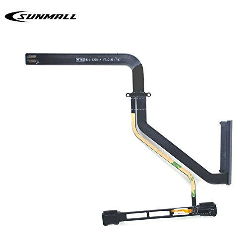SUNMALL HDD Hard Drive w/IR/Sleep/HD Cable Replacement with Bracket 922-9771 821-1226-a for Apple MacBook Pro Unibody 13