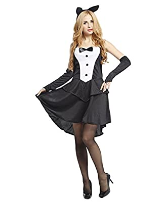 74'S Women fashion Sexy Bunny Costume - Fancy Halloween Rabbit Uniform for Women