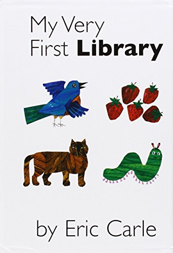 My Very First Library: My Very First Book of Colors, My Very First Book of Shapes, My Very First Book of Numbers, My Very First Books of Words (Eric Carle Board Book Set compare prices)