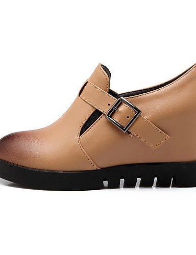 Zeppe Leatherette Cn41 Vestito Donna Shoes Eu40 Nero Njx us9 Nero Tray Heels mandorla Uk7 a Hug Tacco Tacchi A wU8EOnE4q